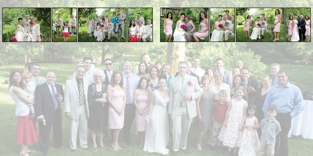 New Jersey Wedding Photography - Wedding Album
