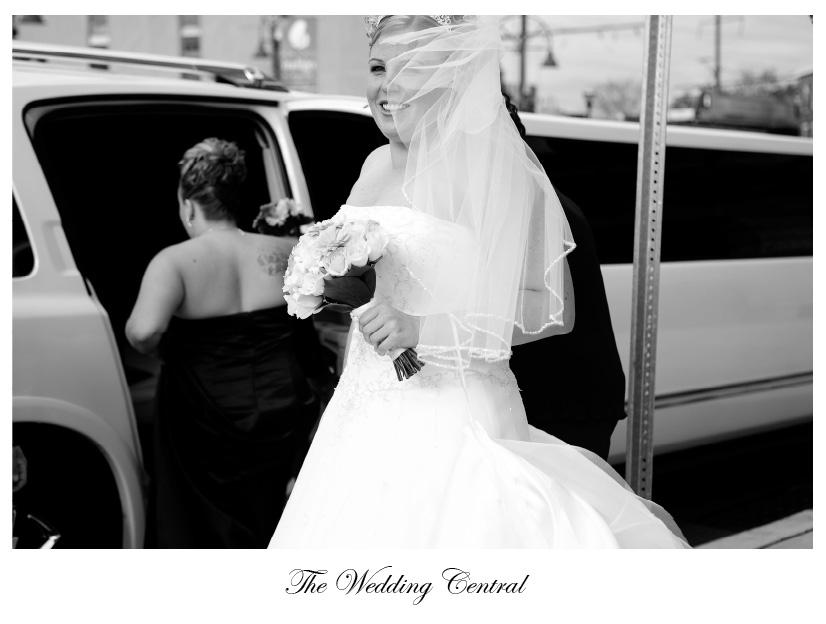 Hotel Indigo Wedding Photos Black and White NJ Wedding Photography