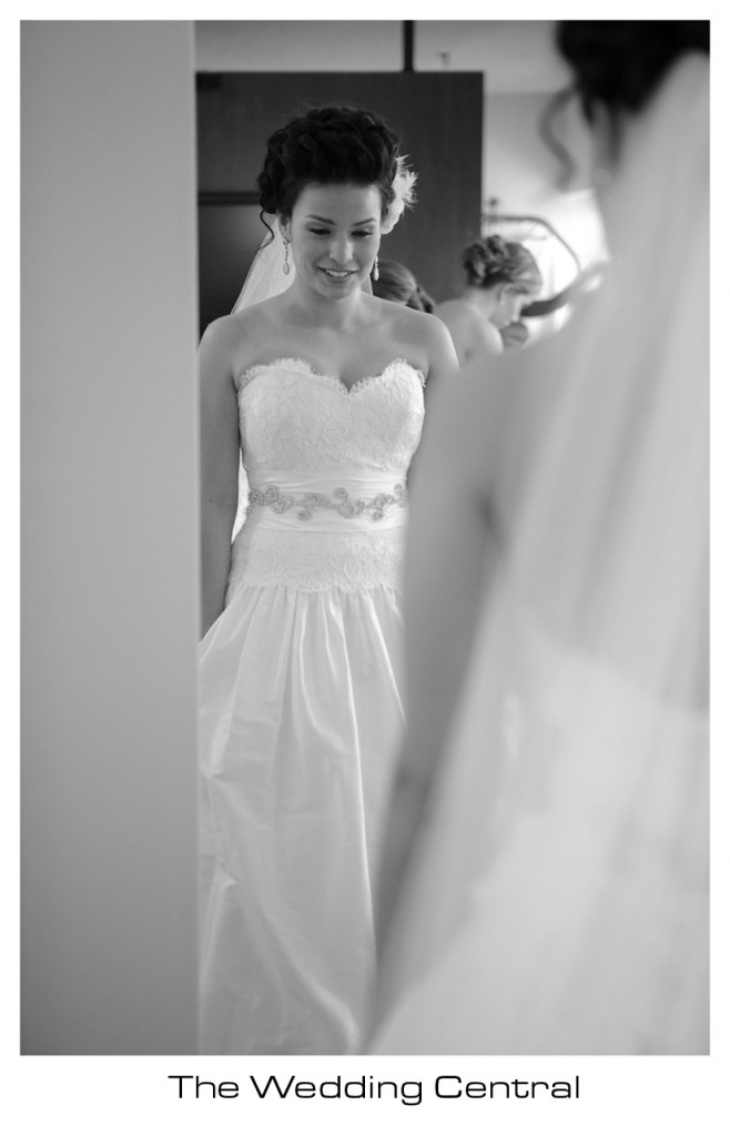 Bride getting ready - NJ Wedding Photographer