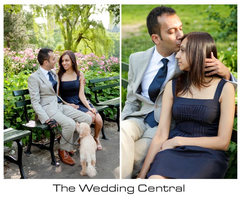 New York Engagement Photographer - Central Park engagement photos