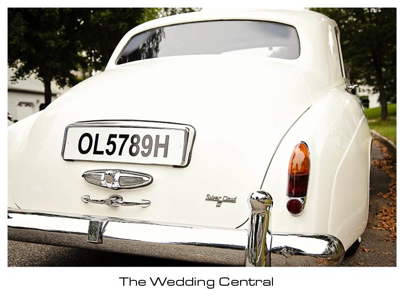 Vintage Car rolls royce - Lindsay and Alex Levine Wedding Photos