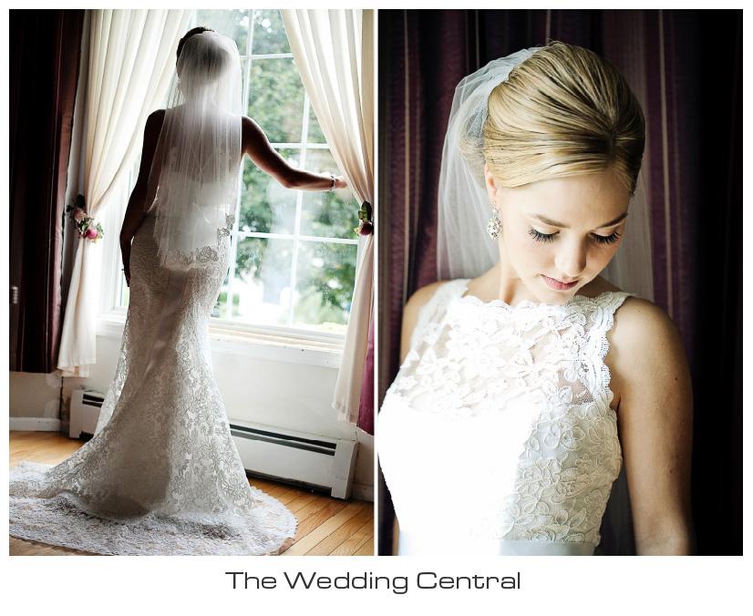 elegant bridal portrait - NJ Westmount Country Club Wedding - Lindsay and Alex Levine Wedding Photos