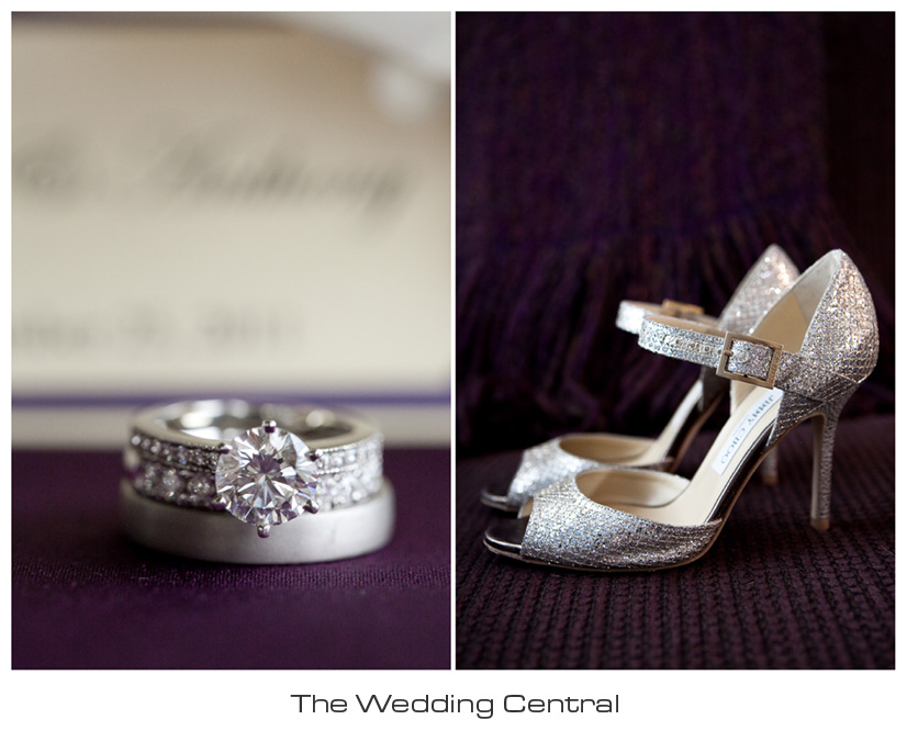 Jimmy Choo wedding shoes photo