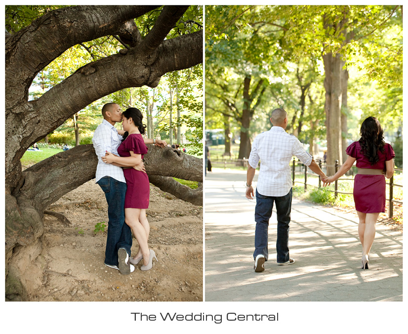 Central Park Engagement Photos - New York City Photographer