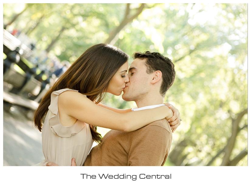 New York City Wedding Photographer - Central Park NYC engagement photographer