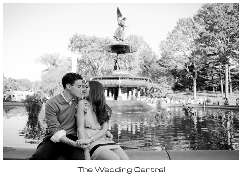 Central Park NYC Engagement - NYC engagement photographer